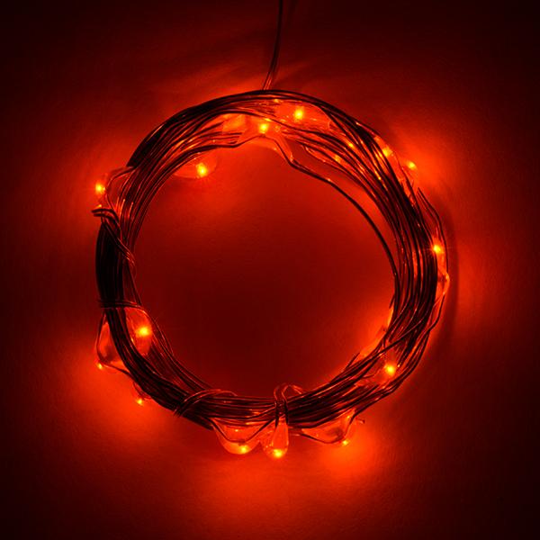 Fairy Lights - Orange (2.5m)