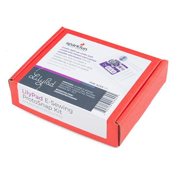 LilyPad E-Sewing ProtoSnap Box