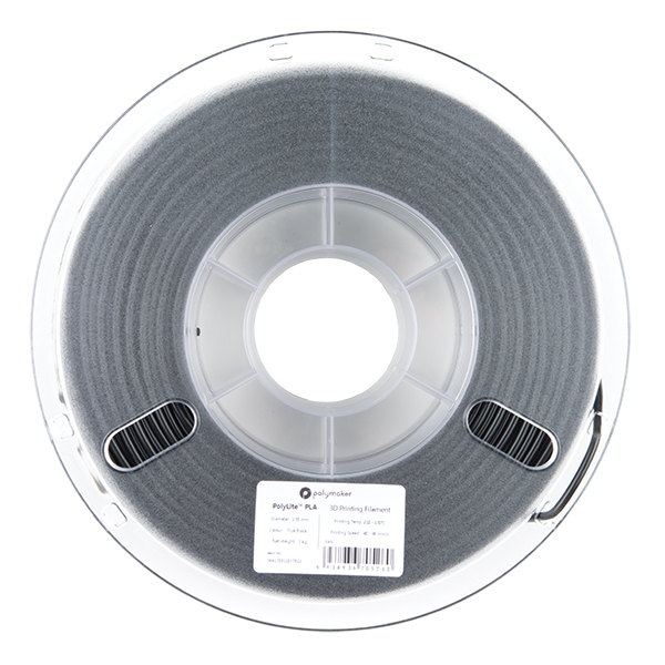 PLA Filament 2.85mm - 1kg (Black)