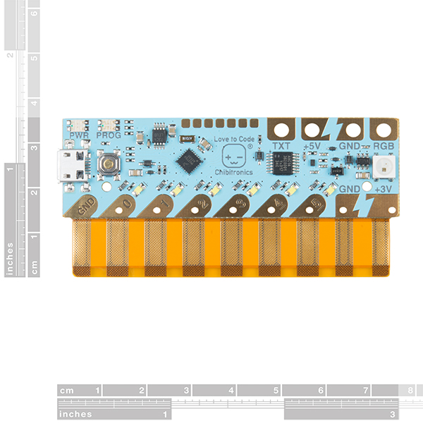 Love to Code Chibi Chip Microcontroller Board