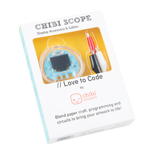 Love to Code Chibi Scope Display Accessory
