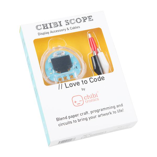 Love to Code Chibi Scope Display Accessory