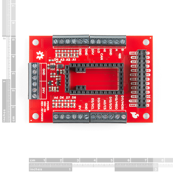 SparkFun AST-CAN485 I/O Shield (24V)