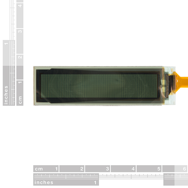 """SparkFun Flexible Grayscale OLED Breakout - 1.81"""""""