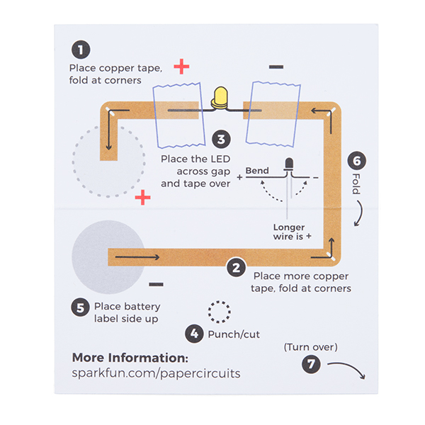 SparkFun Paper Circuits Classroom Pack