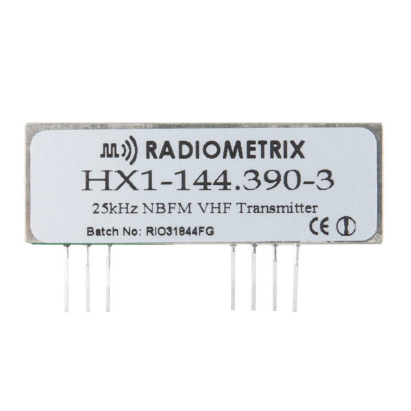 HX1 - VHF Narrow Band FM APRS Transmitter  (144.39Mhz - NA)