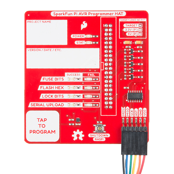SparkFun Pi AVR Programmer HAT