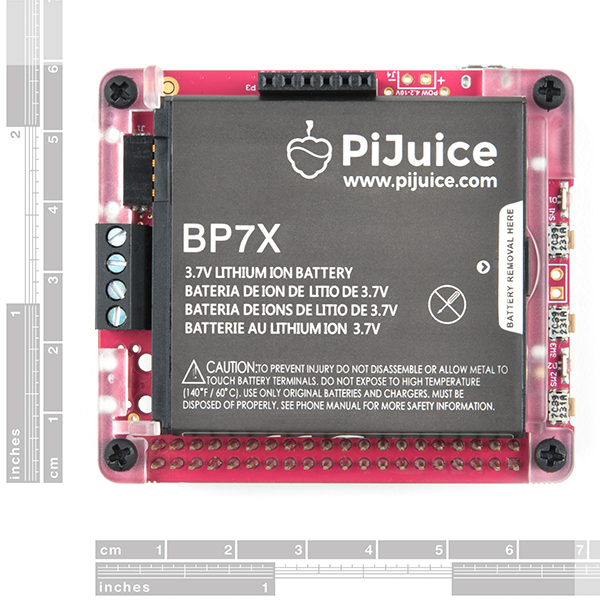 PiJuice HAT - Raspberry Pi Portable Power Platform
