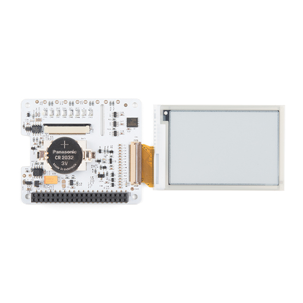 PaPiRus ePaper / eInk Screen HAT for Raspberry Pi