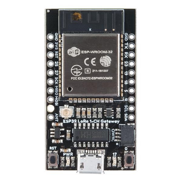 ESP32 LoRa 1-Channel Gateway