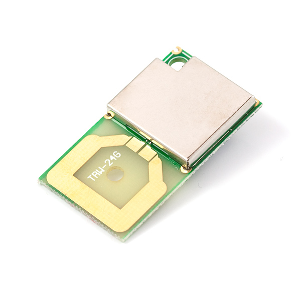Transceiver nRF2401A with Trace Antenna