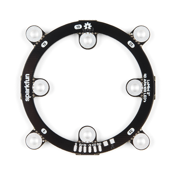 SparkFun LuMini LED Ring - 2 Inch (40 x APA102-2020)