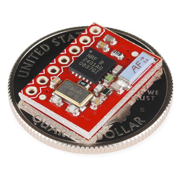 SparkFun Transceiver Breakout - nRF2401A (Chip Antenna)