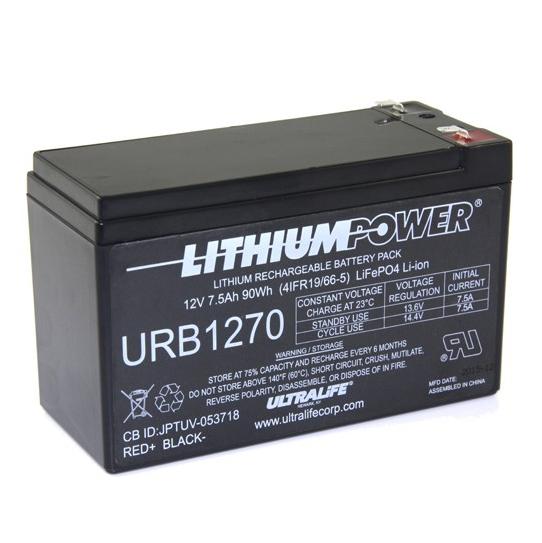 Battery Pack - 12V 7.5Ah