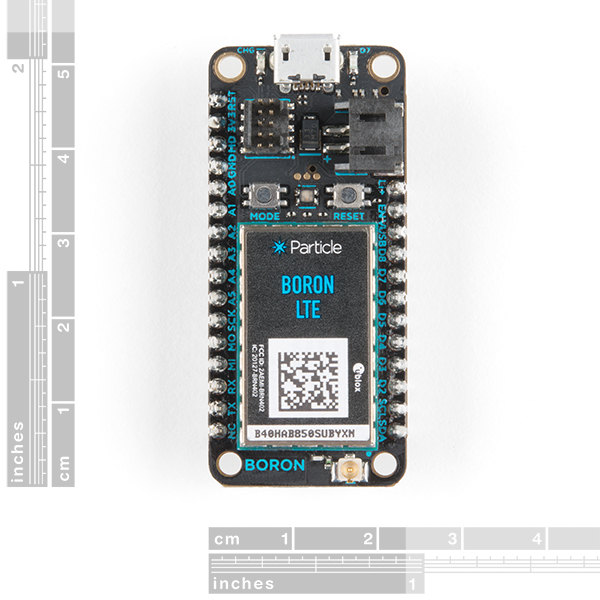 Particle Boron LTE IoT Development Board