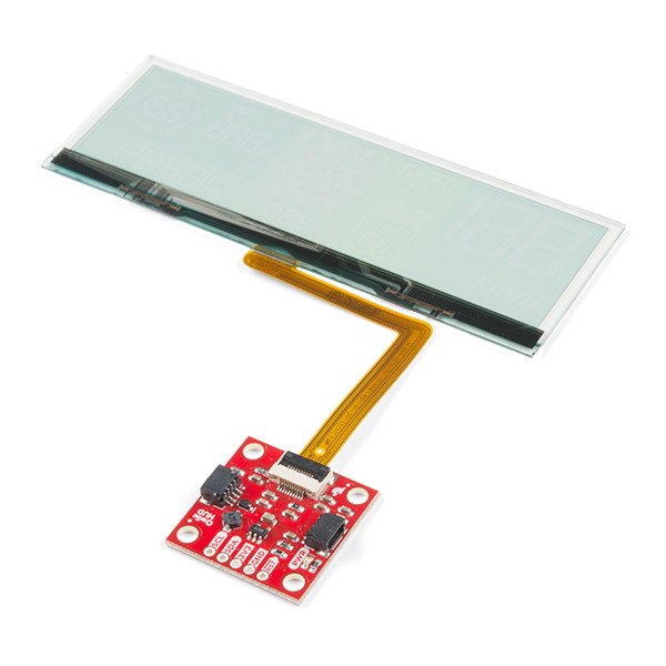 SparkFun Transparent OLED HUD Breakout (Qwiic)