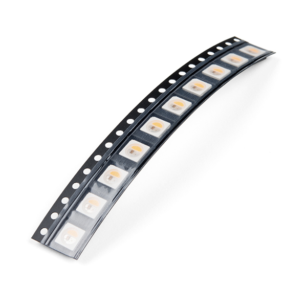 SMD LED - RGBW Inolux IN-PI55QATPRPGPBPW-30-5050 (Pack of 10)