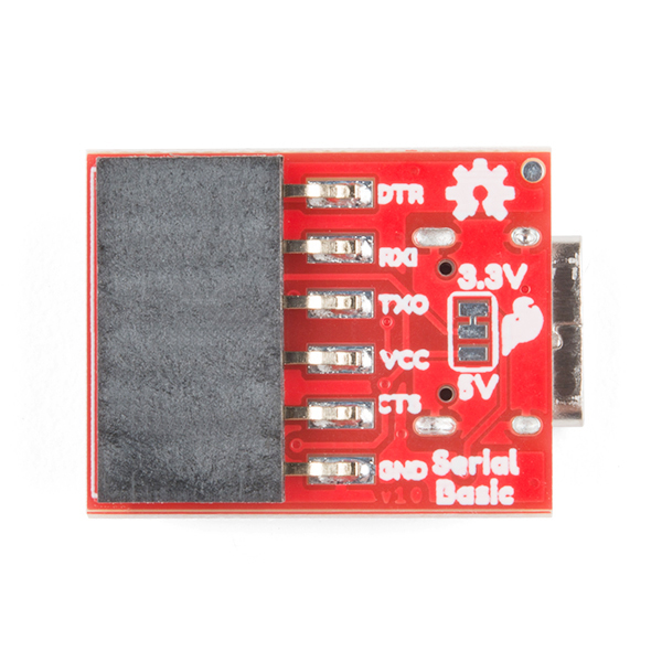 SparkFun Serial Basic Breakout - CH340C and USB-C