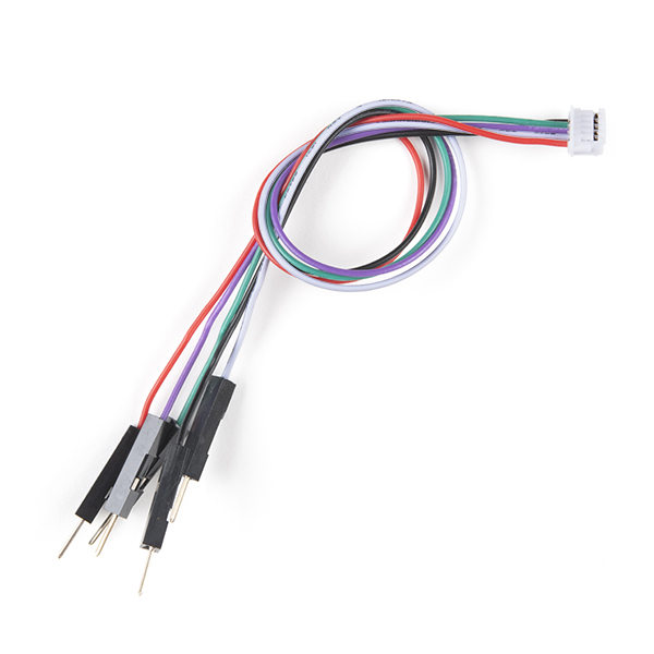 JST-ZHR Cable - 5-pin, 1.5mm