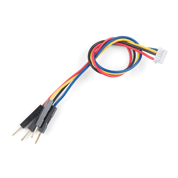 Cable - 5-pin 1.25mm Connector - 4-pin Breadboard