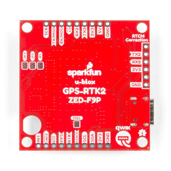 SparkFun GPS-RTK2 Board - ZED-F9P (Qwiic)