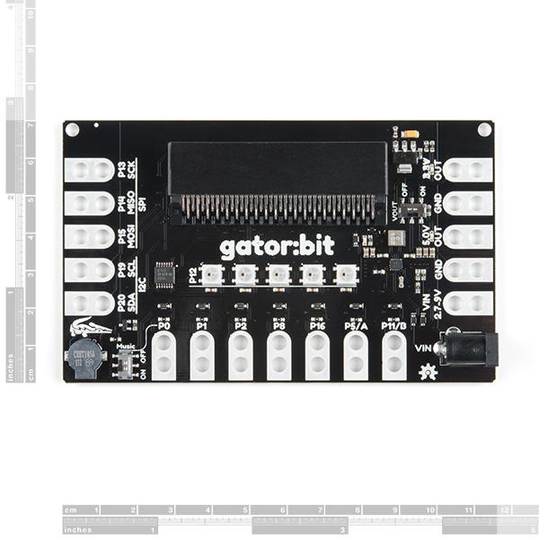 亚博官网SparkFun gator:bit v2.0 - micro:bit载体板