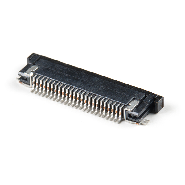 FPC Camera Connector - 24-Pin, 0.5mm (Bottom-Contact)