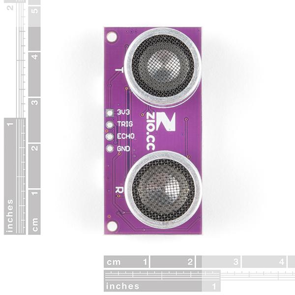 Zio Ultrasonic Distance Sensor - HC-SR04 (Qwiic)