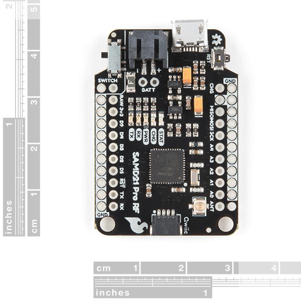 SparkFun Pro RF - LoRa, 915MHz (SAMD21, Black Board)