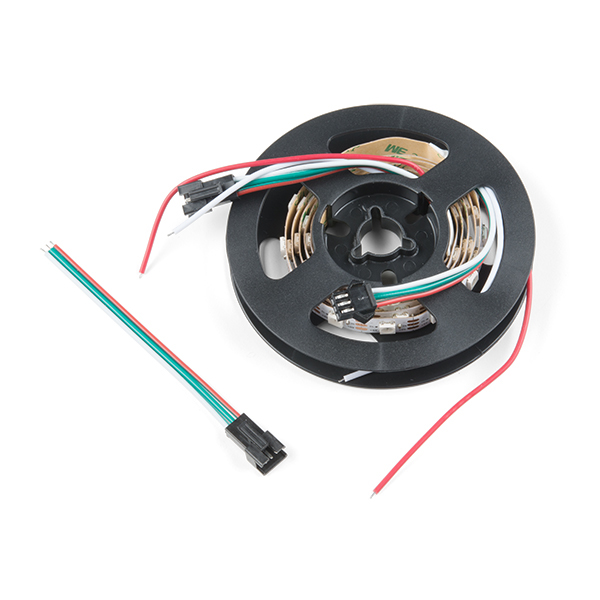 LED RGB Strip - Addressable, Bare, 1m (APA104)