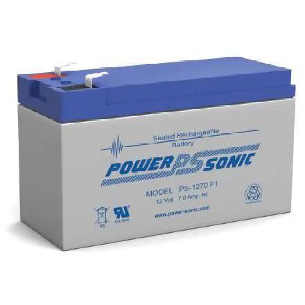 Lead Acid Battery >> Power Sonic 12v 7 0ah Sealed Lead Acid Battery