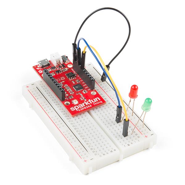 SparkFun ESP8266 Thing Starter Kit