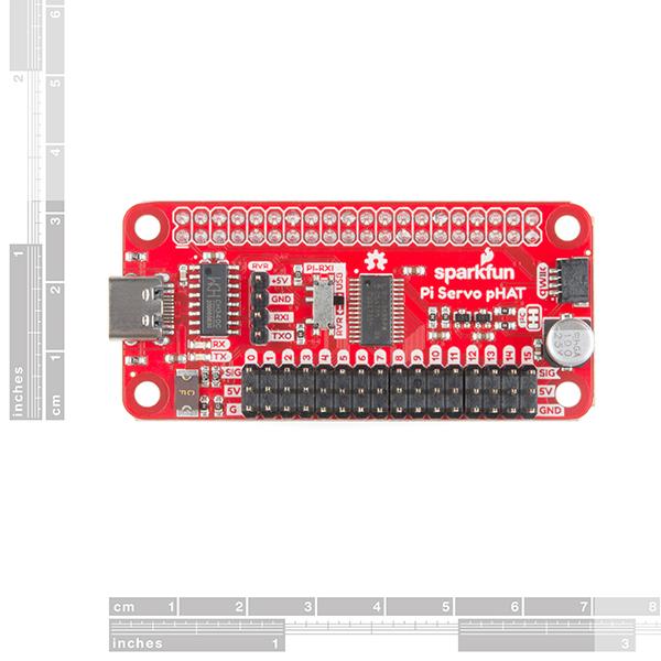 SparkFun Servo pHAT for Raspberry Pi