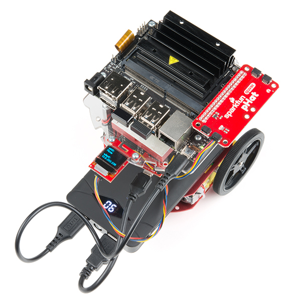 SparkFun JetBot AI Kit Powered by NVIDIA Jetson Nano