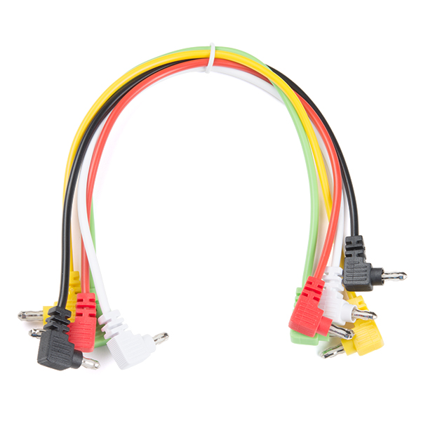 Banana to Banana Cable - Right Angle