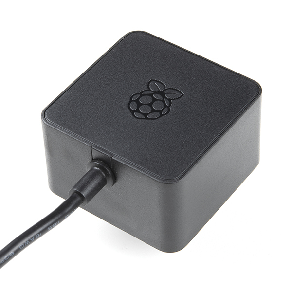 Raspberry Pi Wall Adapter Power Supply - 5.1VDC, 3.0A, 15.3W (USB-C)