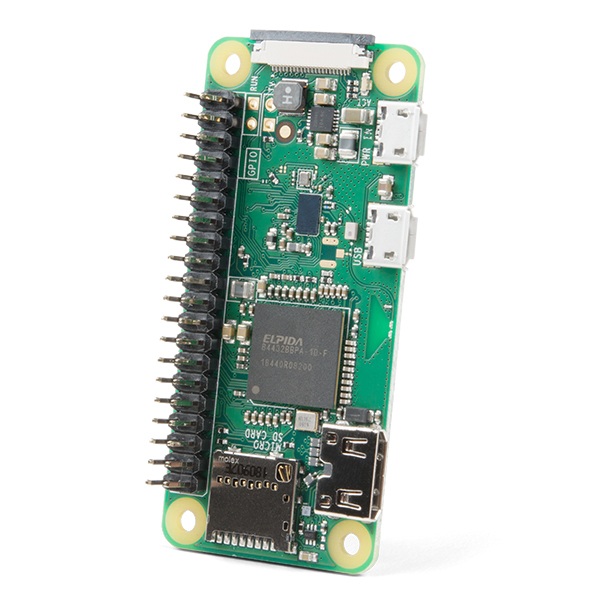 Raspberry Pi Zero W (with Headers)
