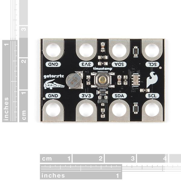 gator:rtc - micro:bit Accessory Board size