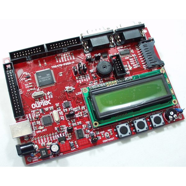 Development Board TI TMS470R1A256 ARM