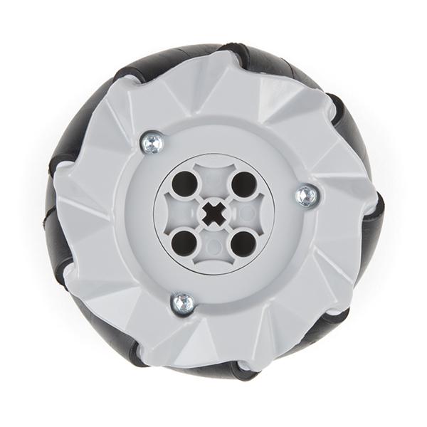 Mecanum Wheels - 65mm,  (4 Pack)