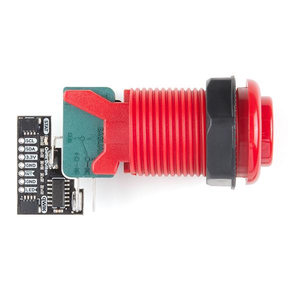 Qwiic Arcade - Red