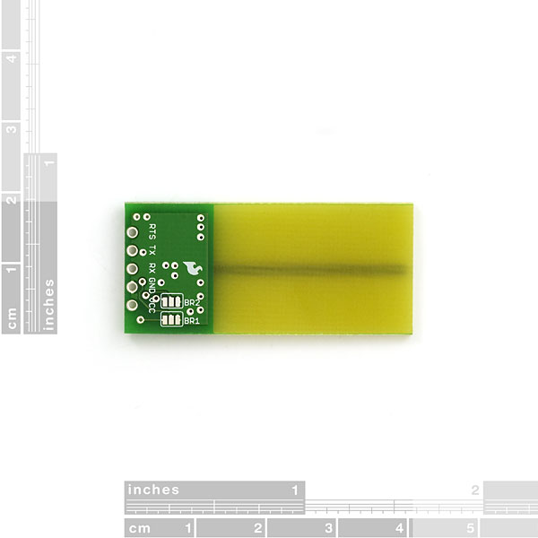 Transceiver nRF24AP1 with Trace Antenna