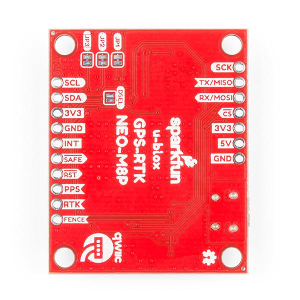 SparkFun GPS-RTK Board - NEO-M8P-2 (Qwiic) (Distro Black Friday)