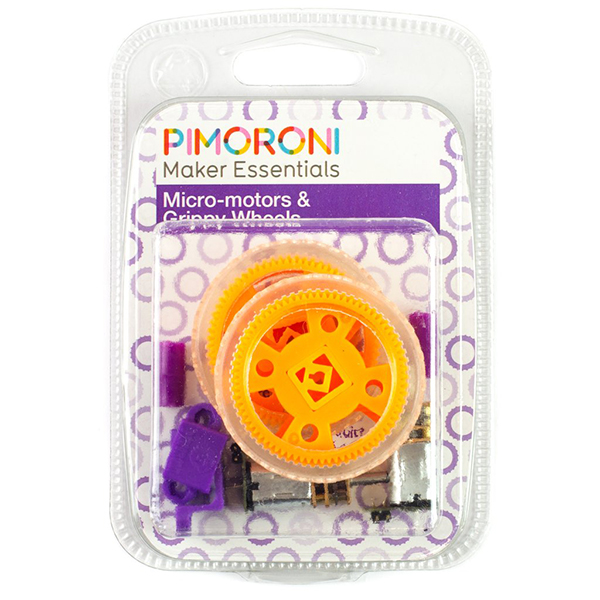 Micro-motors & Grippy Wheels Kit