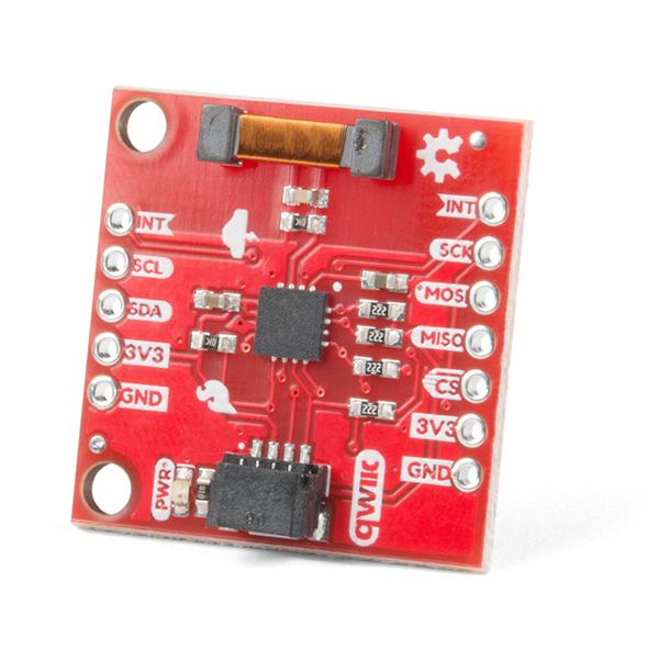 SparkFun Lightning Detector - AS3935 (Ding & Dent)