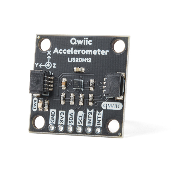 Triple Axis Accelerometer Breakout - LIS2DH12 (Qwiic)