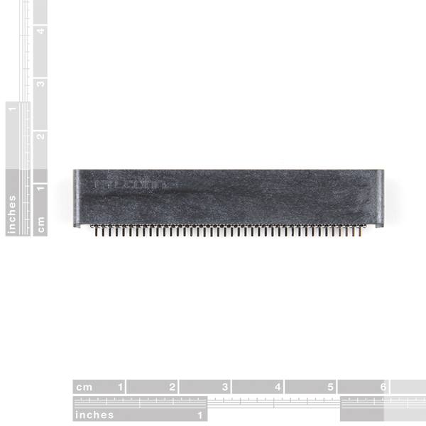 micro:bit Edge Connector - SMD, Right Angle (40-pin)