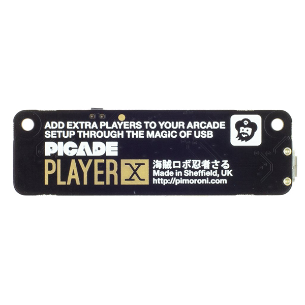 Pimoroni Accessories Player X USB Games Controller PCB