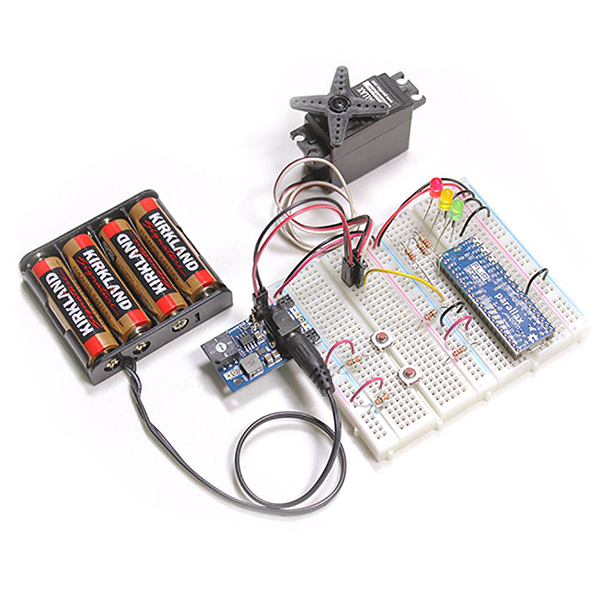 PowerPal Selectable Voltage 3-Amp Breadboard Power Supply