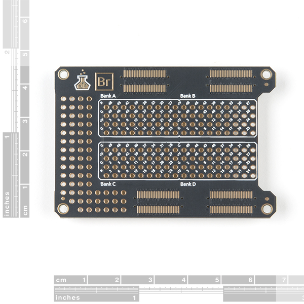 Alchitry Br Prototype Element Board (No Top Connectors)